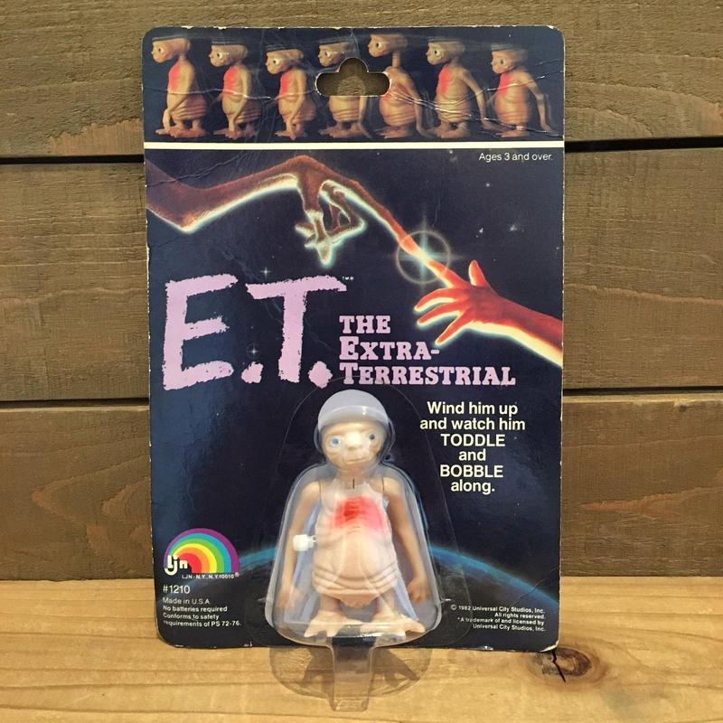 E.T. Wind Up Figure/E.T. トコトコフィギュア/190520-4