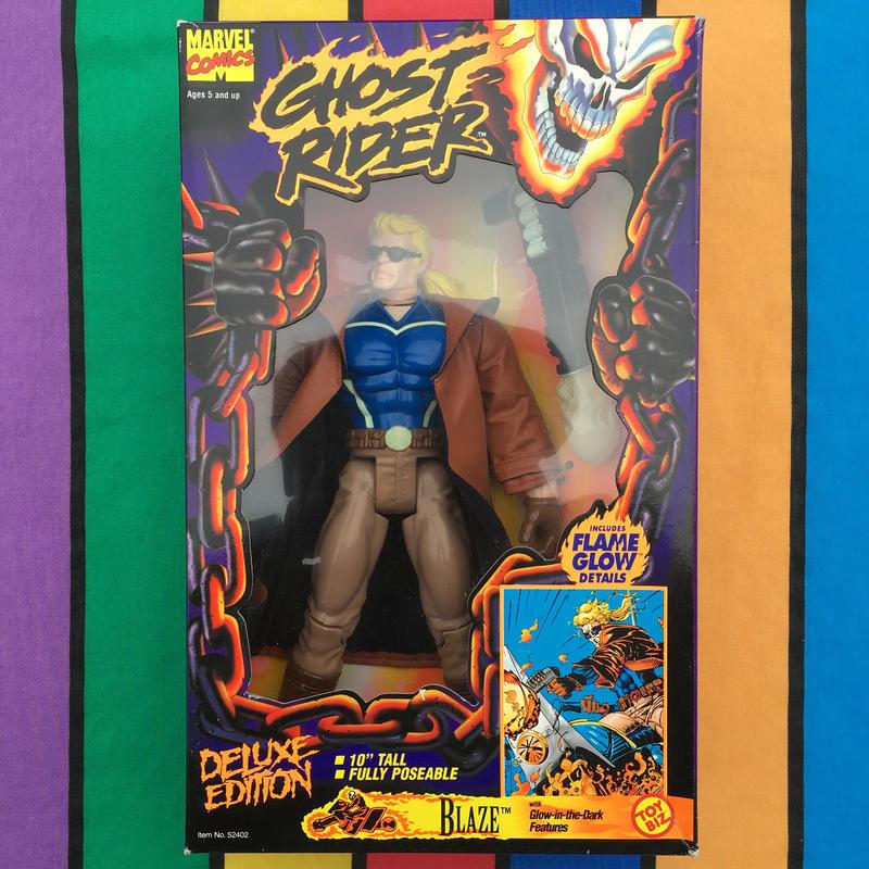 GHOST RIDER 10inch Blaze/ゴーストライダー 10インチ ブレイズ フィギュア/160726-5