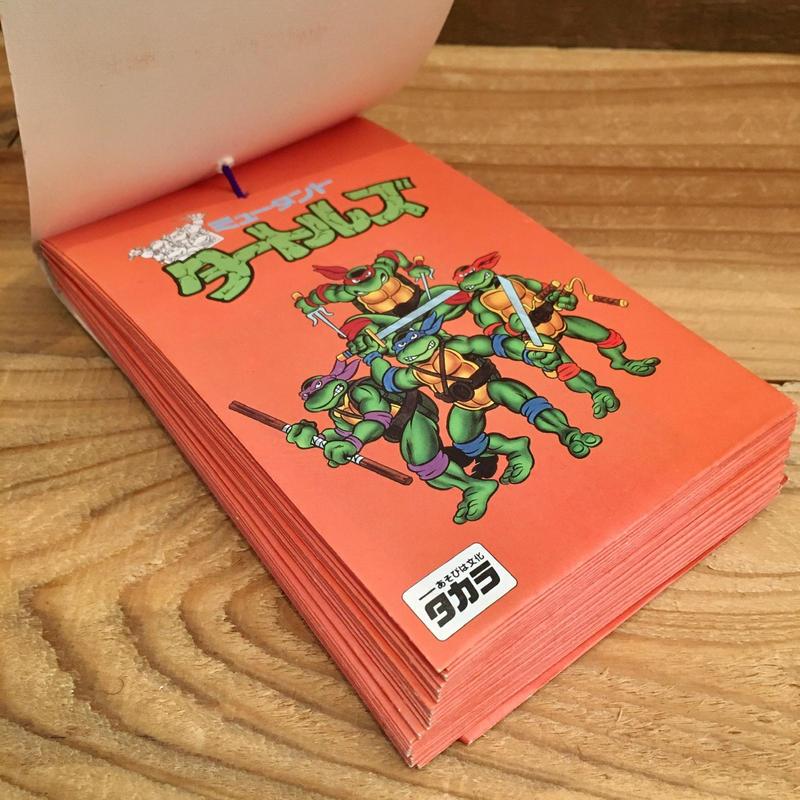 TURTLES Card 5Pcs Set/タートルズ 硬質ブロマイド 5枚セット/1801220-2