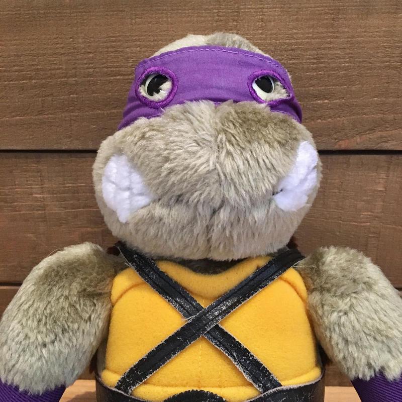 TURTLES Donatello Plush Doll/タートルズ ドナテロ ぬいぐるみ/190706-1