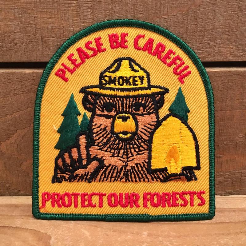 SMOKEY BEAR Patch/スモーキーベア パッチ/190118-6
