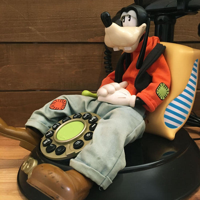 Disney Goofy talking Telephone/ディズニー グーフィー トーキング電話/190106-1