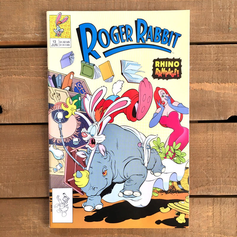 Who Framed ROGER RABBIT Roger Rabbit Comics 13/ロジャーラビット コミック 13号/190315-10