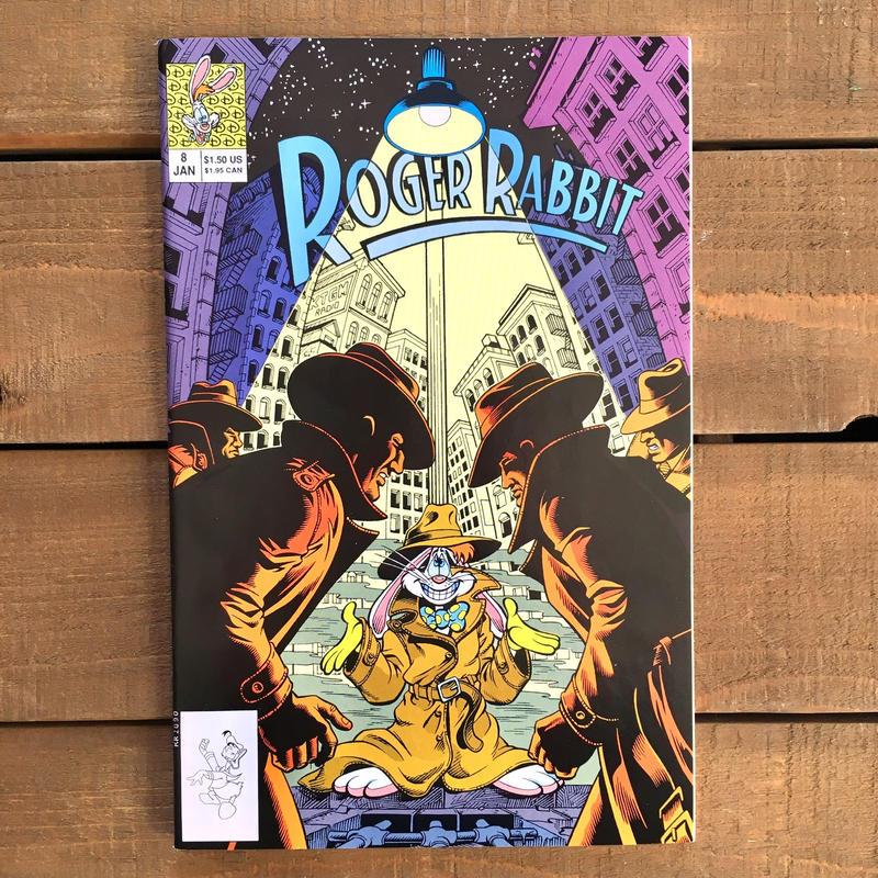 Who Framed ROGER RABBIT Roger Rabbit Comics 8/ロジャーラビット コミック 8号/190315-6