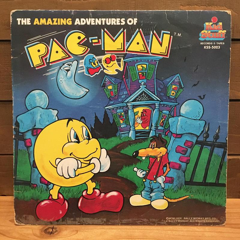 PAC-MAN Record/パックマン レコード/18410-9