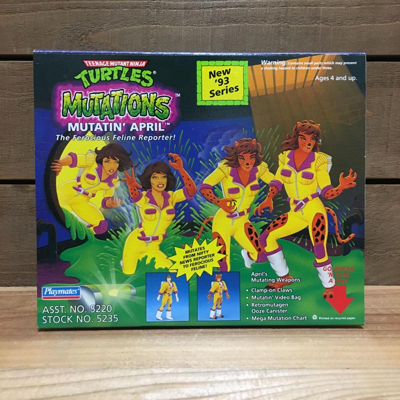 TURTLES Mutatin' April Figure/タートルズ ミューテーション・エイプリル フィギュア/181113-1