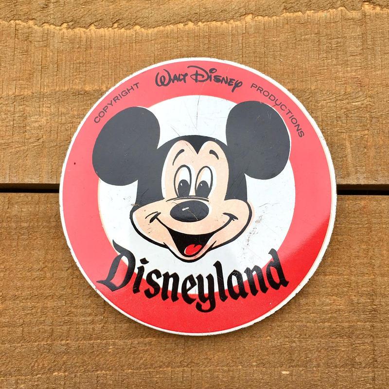 Disney Disneyland Bottun/ディズニー ディズニーランド 缶バッジ/190512-6