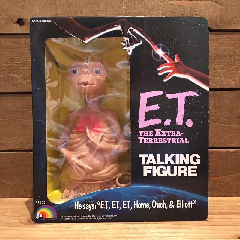 E.T. Talking Figure/E.T. トーキングフィギュア/190415-1