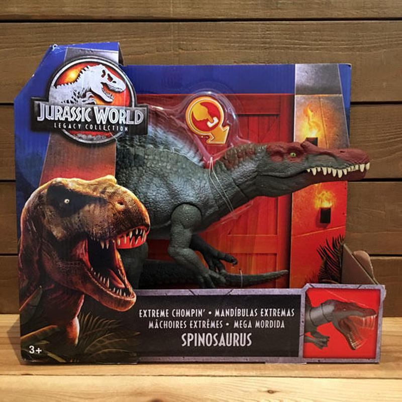 JURASSIC PARK Spinosaurus Figure/ジュラシックパーク スピノサウルス フィギュア ※パッケージダメージ/190213-1