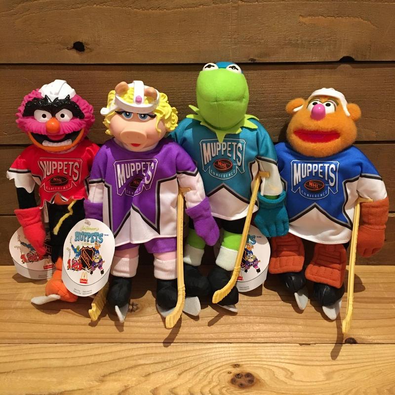 THE MUPPETS Muppets NHL Plush Set/マペッツ マペッツNHL ぬいぐるみ/190412-3