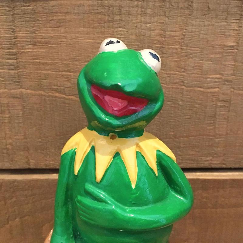THE MUPPETS Kermit the Frog Ceramic Figurine/マペッツ カーミット セラミックフィギュアリン/190529-8