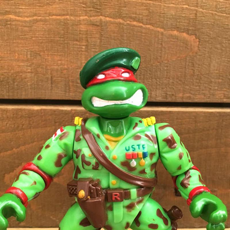 TURTLES Raph the Green Teen Beret Figureタートルズ グリーンベレー ラファエロ フィギュア/190110-9