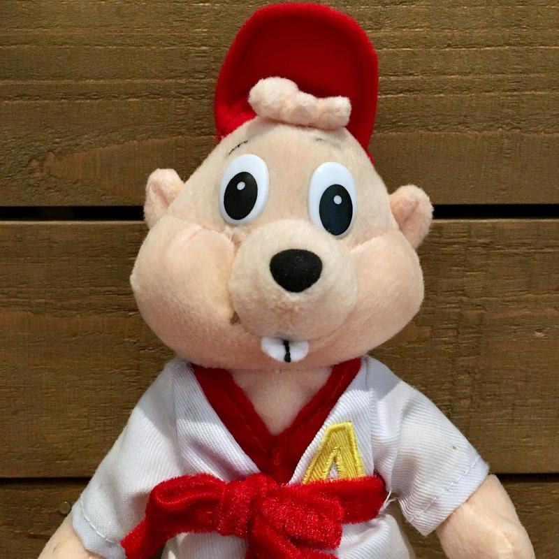 Alvin and the Chipmunks Karate Alvin Plush Doll/アルビンとチップマンクス カラテ・アルビン ぬいぐるみ/190625-8