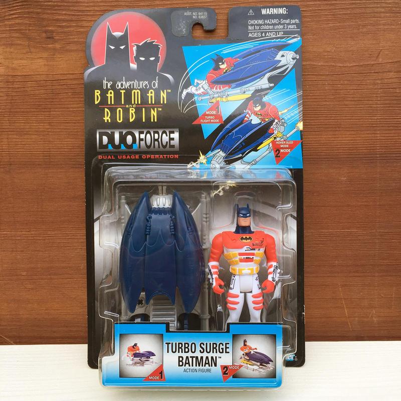 BATMAN Turbo Surge Batman Figure/バットマン ターボサージ・バットマン フィギュア/180216-2