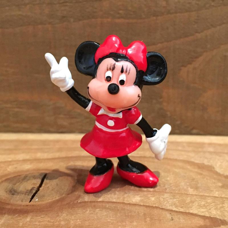 Disney Minnie Mouse PVC Figure/ディズニー ミニー・マウス PVCフィギュア/190208-10