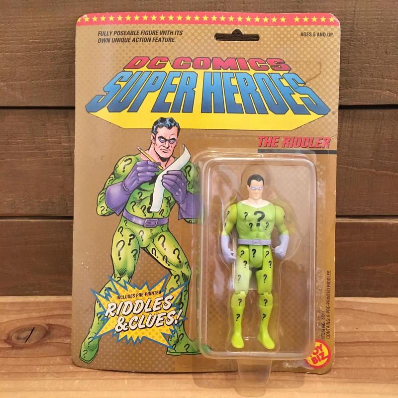 BAT MAN  DC Super Heroes The Riddler Figure/バットマン DCスーパーヒーローズ リドラー フィギュア/190129-4