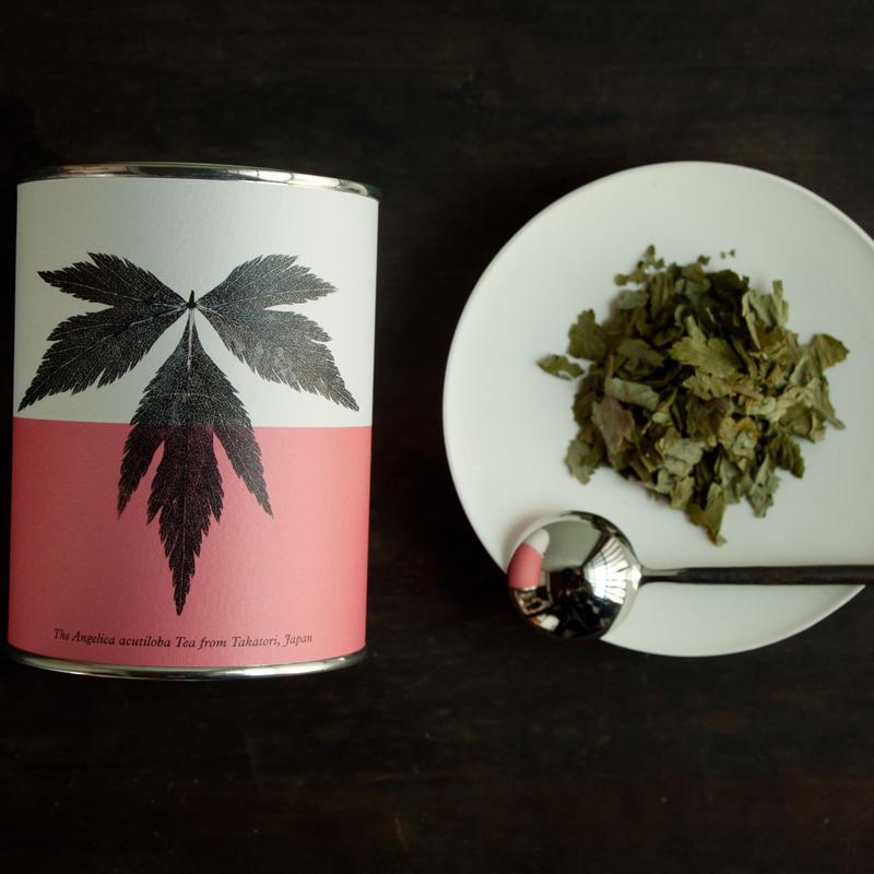【期間限定】丹波の寒さにまけない大和当帰茶(リーフ/缶)