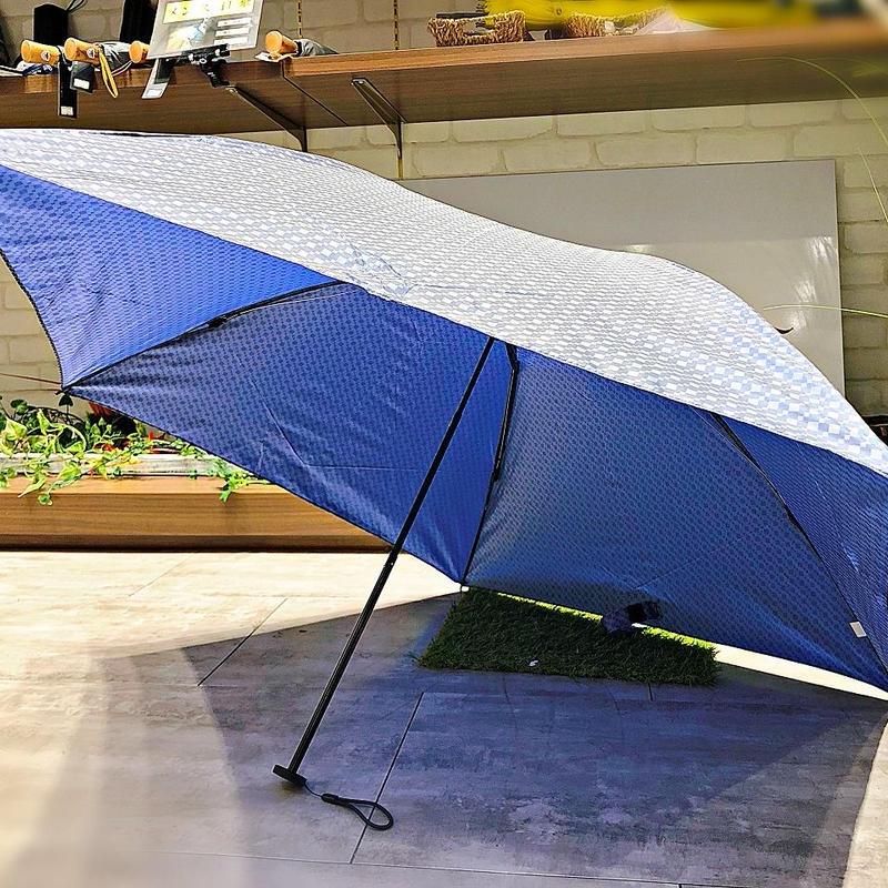 【折 超軽量シリーズ】98g 55㎝ 傘専門店 通販 東京 折り畳み 旅傘【ドビー Blue】