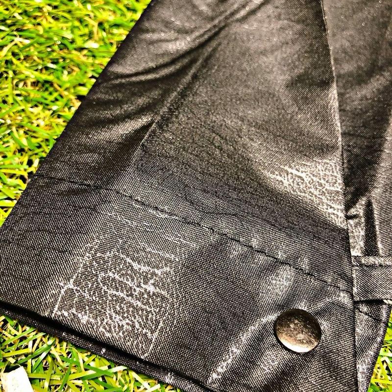 【折 自動開閉シリーズ】55㎝ 傘専門店 通販 東京 折り畳み 旅傘【Leather Style Black】
