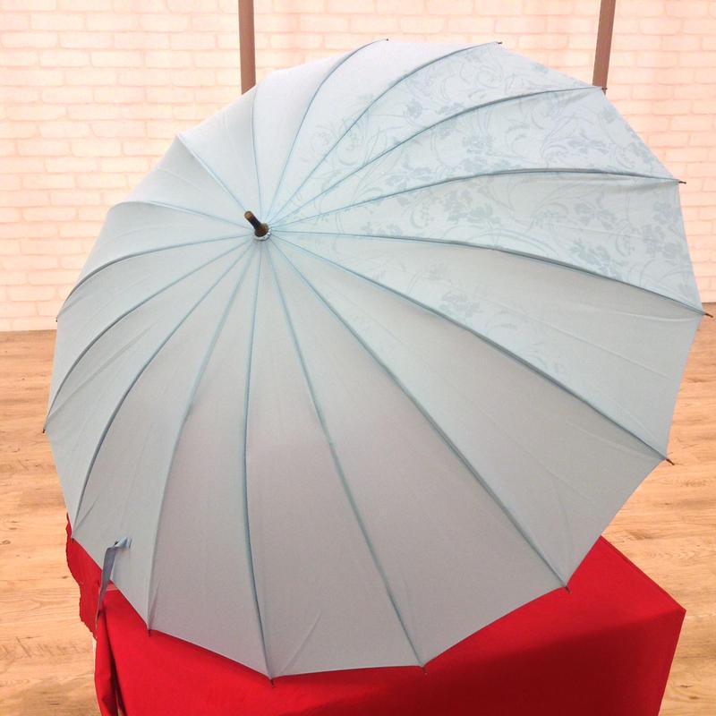 purple【入荷】傘専門店  通販  東京  雨傘  ワンタッチ  ジャンプ  グラスファイバー  サビない  旅傘  【柄が浮き出る   ラベンダー】