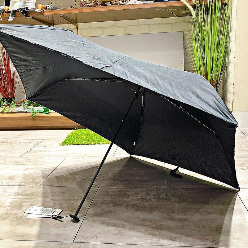 【折 超軽量シリーズ】86g 50㎝ 傘専門店 通販 東京 折り畳み 旅傘【Black】