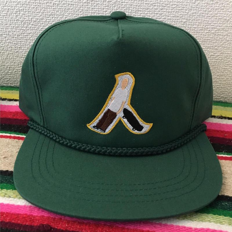 GOLF CAP 人 MEN Oakland(ForestGreen/Yellow)