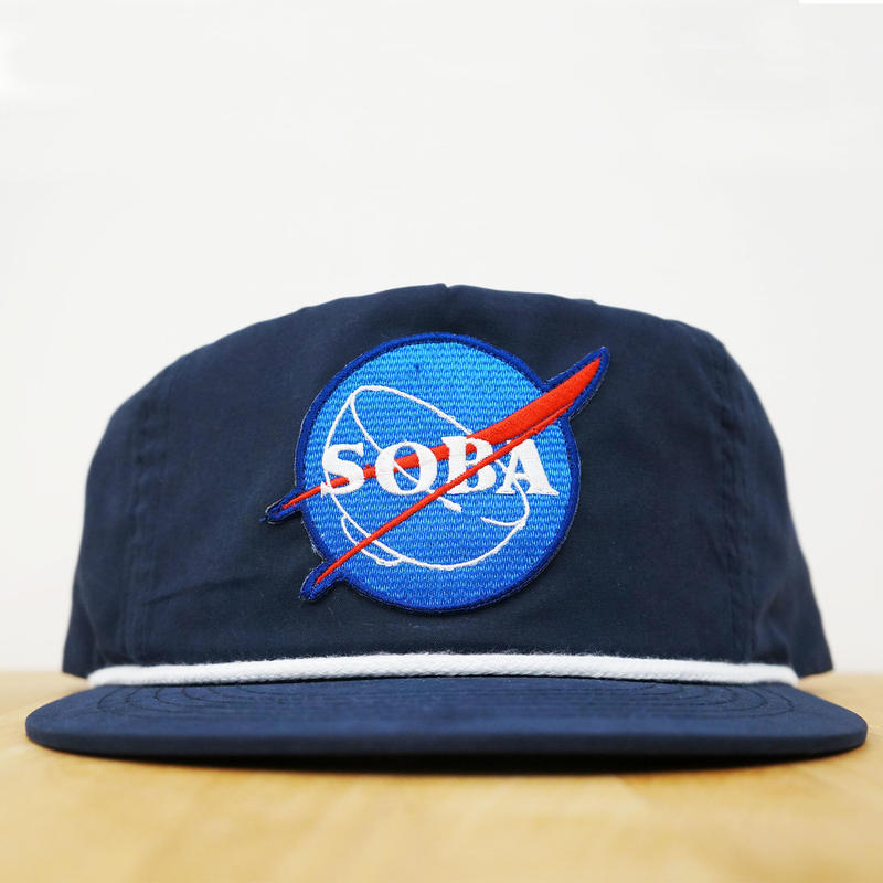 NYLON CAP SOBA ( Navy )