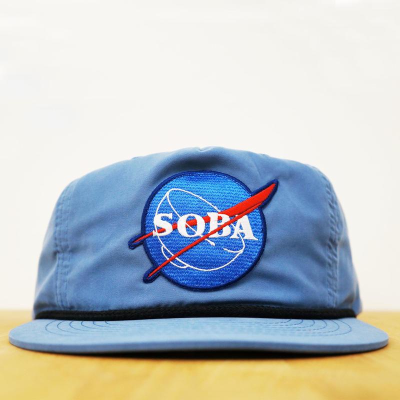 NYLON CAP SOBA( Ice blue )