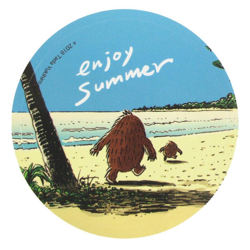enjoy summer ステッカー