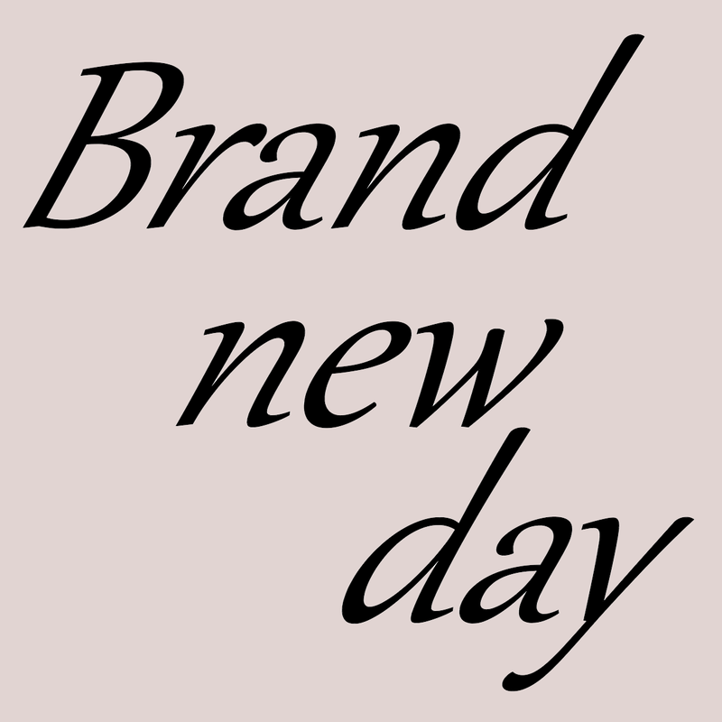 「Brand new day」CD-R版