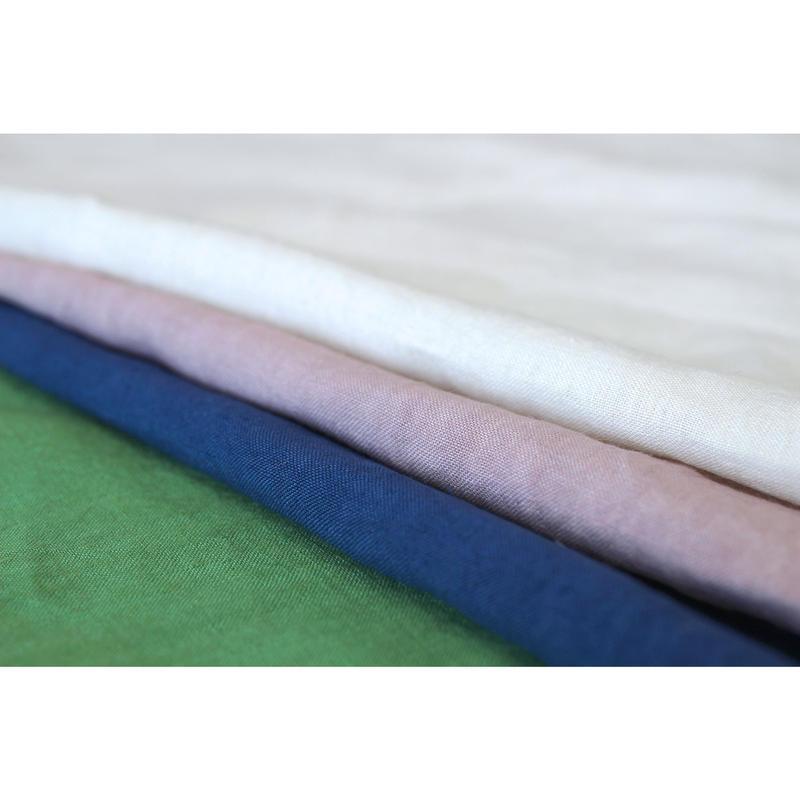 【人気手染めリネン】 fanageリネン100% 40番手糸使用 平織り生地/1m