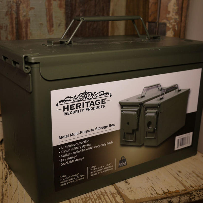 HERITAGE SECURITY PRODUCTS のアンモボックス