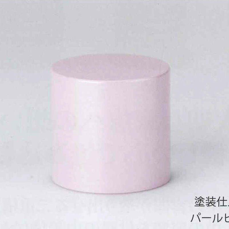 ミニ骨壷 端麗(パールピンク) お部屋に置けて持ち歩くことも出来ます