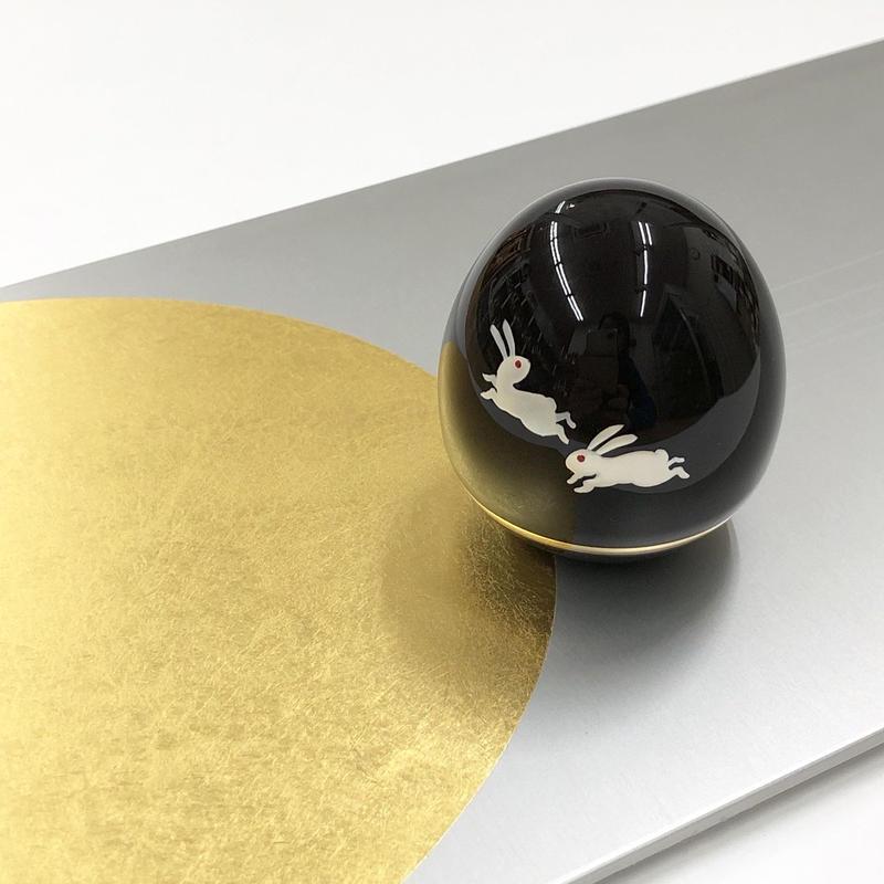 月とうさぎ の骨壺セット