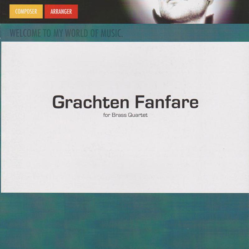 ★item116 「フラフテン・ファンファーレ」ブラス・カルテット+パーカッション  S.フェルヘルスト作曲 (2011)