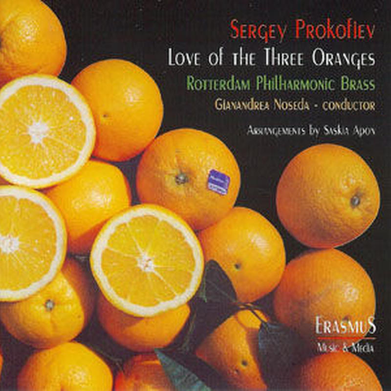 """★item039 ロッテルダム・フィルハーモニック・ブラス CD """"セルゲイ・プロコフィエフ 3つのオレンジの愛"""" (1999)"""