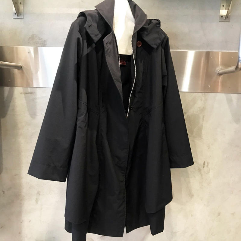 Jumper coat 〔no.304〕~black 再入荷