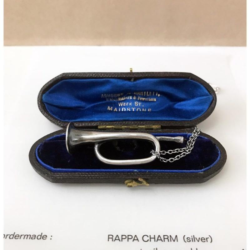 RAPPA (CHARM/silver/silverチェーン付)~ordermade(受注生産となります)