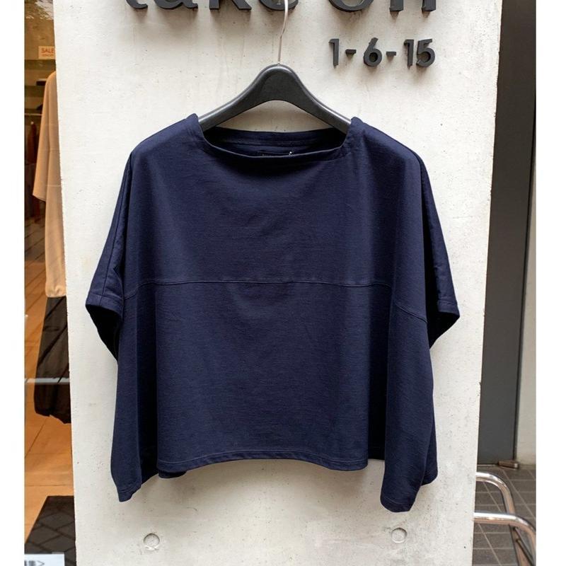 杢染めT-shirt (navy)