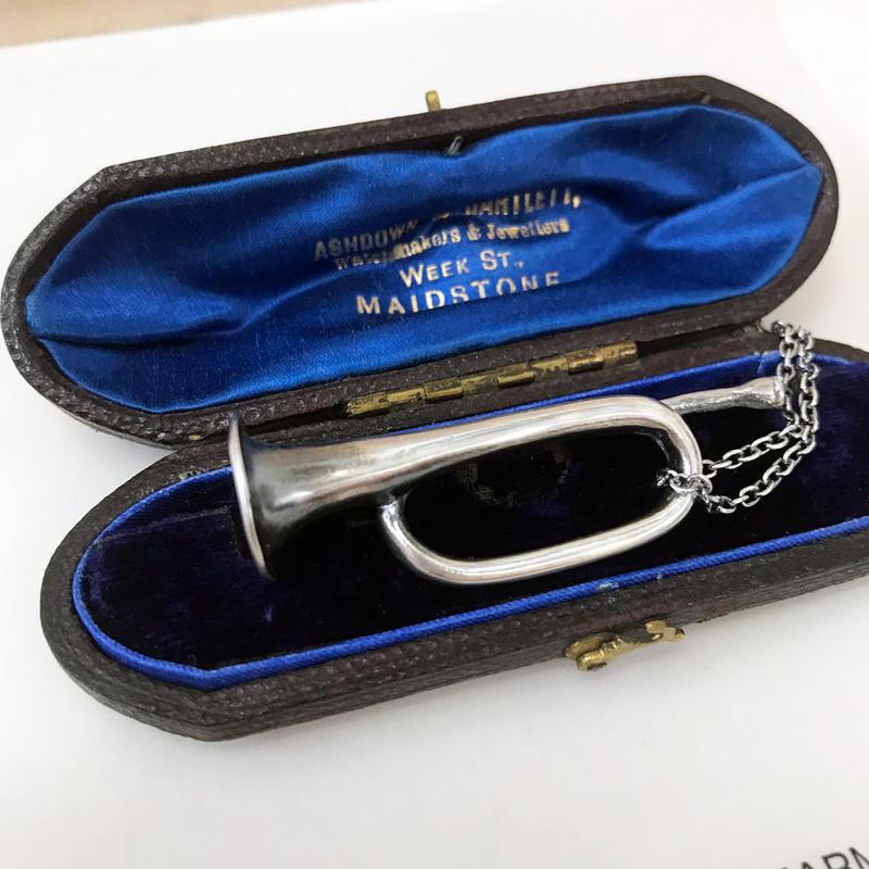Original Accessories[RAPPA/silver+silver chain]
