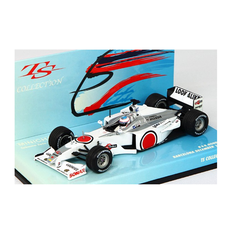 TS Collection No.4 - BAR Honda 002 - Signed Version