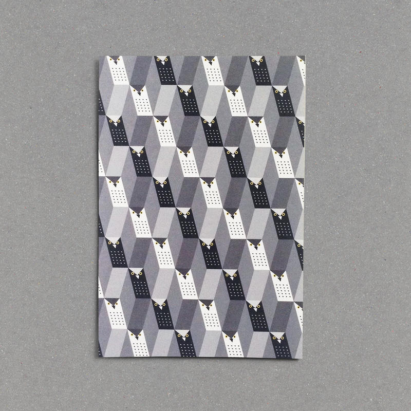 Post Card (Monochrowl-2-)