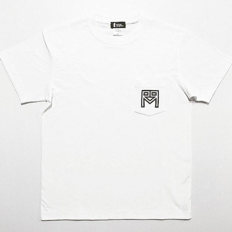 ROYAL MAJESTY ポケットTシャツ [ホワイト]