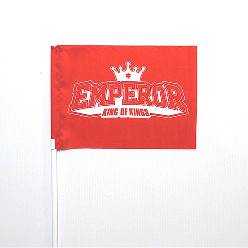 EMPEROR FLAG [RED & WHITE]