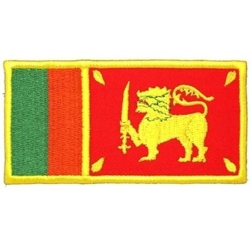 スリランカ 国旗ワッペン