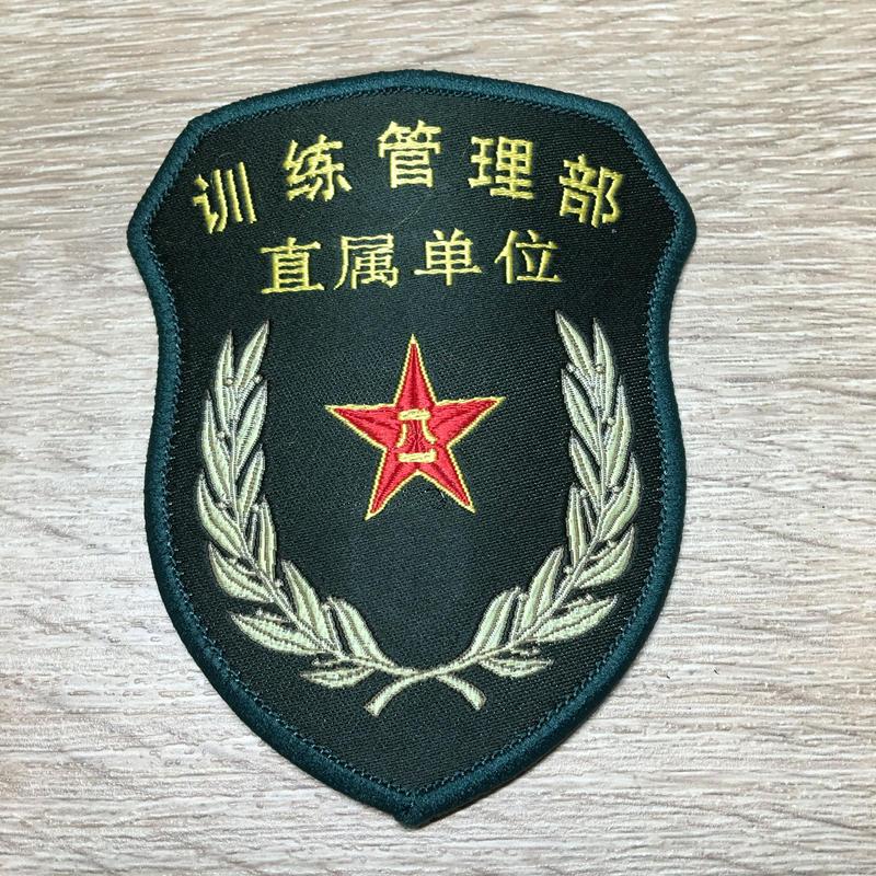 【訓練管理部 直属単位】中国人民解放軍 15式 中央軍委部隊章