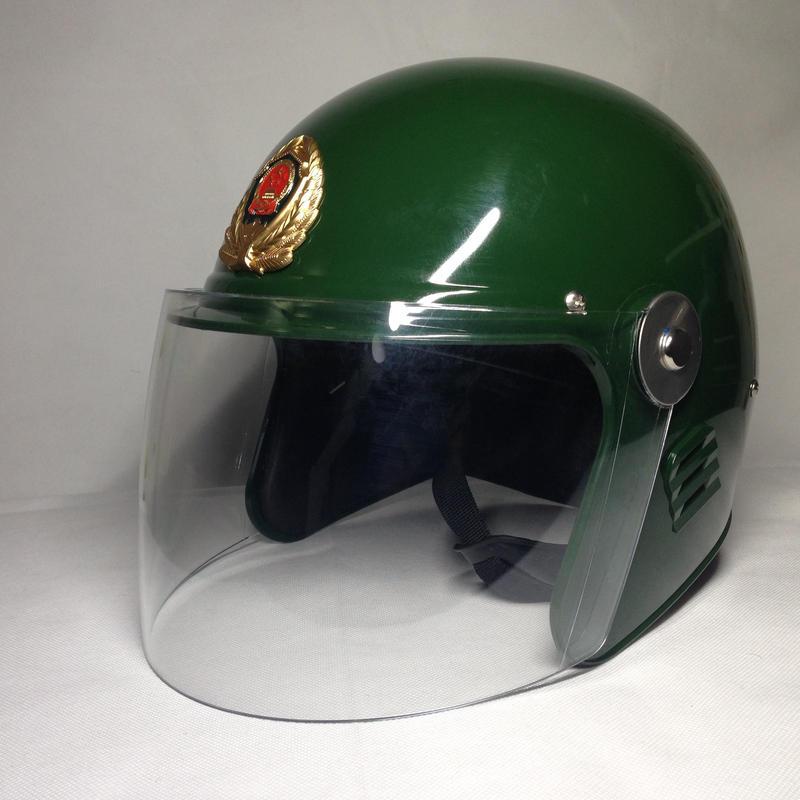 中国人民武装警察 機動隊ヘルメット