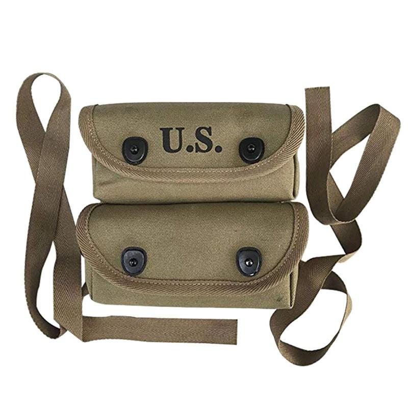 【WW2米軍】海軍陸戦隊 小物入れ2連ポーチ 複製品