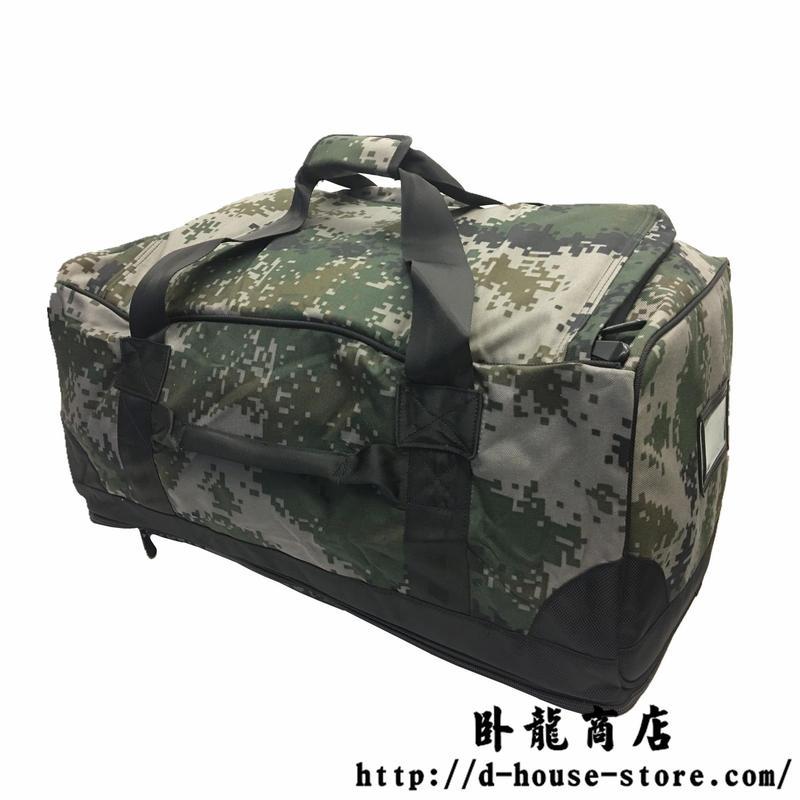 【実物】中国人民解放軍 林地迷彩支給品バッグ