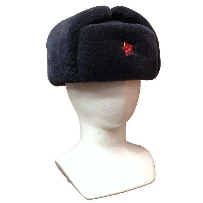 旧ソ連 ウシャンカ 帽子 中華製レプリカ